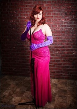Alexandria the Red as Jessica Rabbit (Photo by Blue Adept Photography)