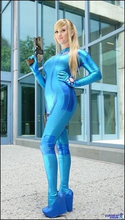 Holly Brooke as Zero Suit Samus (Photo by Eurobeat Kasumi Photography)