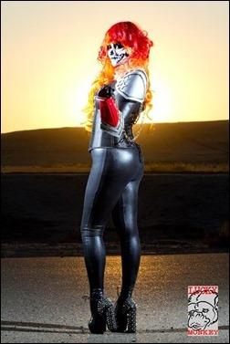 Holly Brooke as Ghost Rider/Alejandra Jones (Photo by Lucky Monkey Photography)