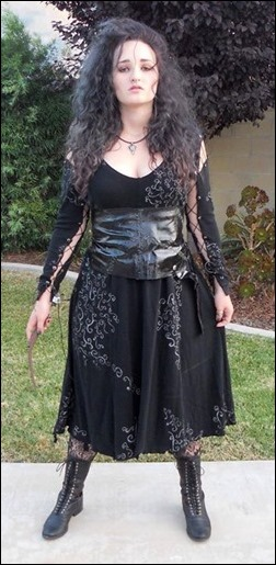 Alexandria the Red as Bellatrix Lestrange