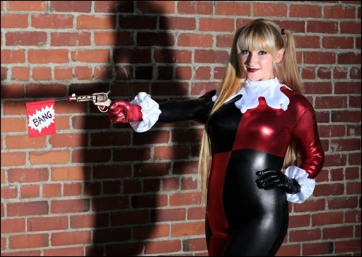 Holly Brooke as Harley Quinn (Photo by Lucky Monkey Photography)