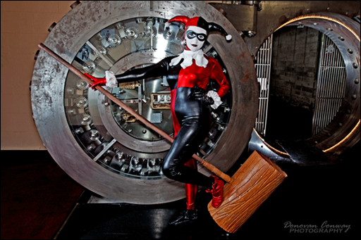Holly Brooke as Harley Quinn (Photo by Donovan Conway Photography)