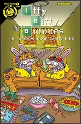 Itty Bitty Bunnies in Rainbow Pixie Candyland: Save X-Mas Cover