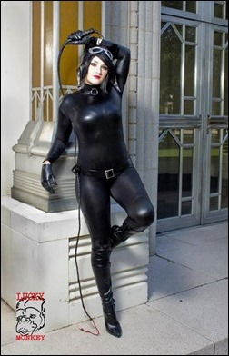 Holly Brooke as Catwoman (Photo by Lucky Monkey Photography)