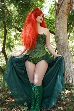 Alexandria the Red as Poison Ivy (Photo by Eurobeat Kasumi Photography)