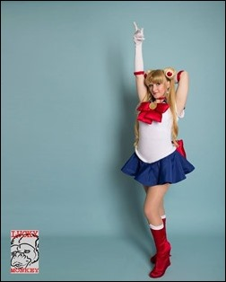 Holly Brooke as Sailor Moon (Photo by Lucky Monkey Photography)