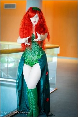 Alexandria the Red as Poison Ivy (Photo by Geri Kramer Photography)