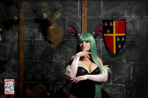 Holly Brooke as Morrigan Aensland (Photo by Lucky Monkey Photography)