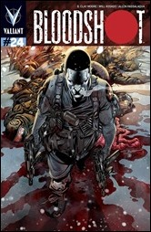 Bloodshot #24 Cover - Sandoval