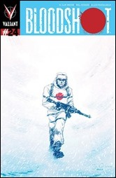 Bloodshot #24 Cover - Grace Variant