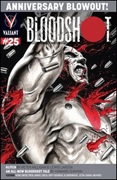 BLOODSHOT #25 – Cover B by Al Barrionuevo