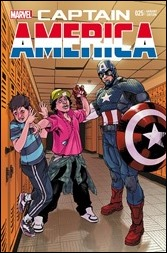 Captain America #25 Cover - Kalman STOMP Out Variant