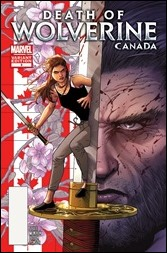 Death of Wolverine #3 Cover - Canada Variant