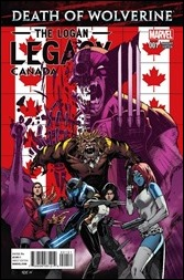 Death of Wolverine: The Logan Legacy #1 Cover - Canada Variant