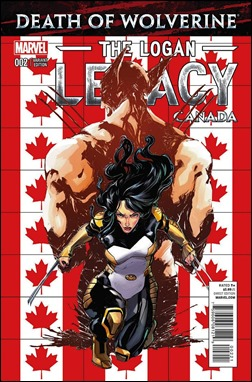 Death of Wolverine: The Logan Legacy #2 Cover - Canada Variant