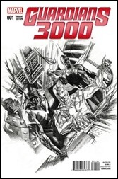 Guardians 3000 #1 Cover - Ross Sketch Variant