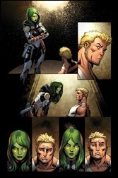 Guardians of the Galaxy #19 Preview 1