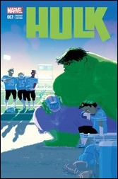 Hulk #7 Cover - Campion STOMP Out Variant