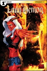 Lady Demon #1 Cover D - Staggs