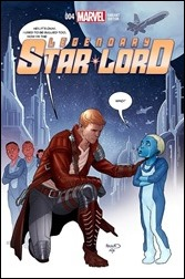 Legendary Star-Lord #4 Cover - Renaud STOMP Out Variant