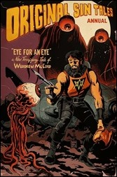 Original Sin Annual #1 Cover - Francavilla Variant