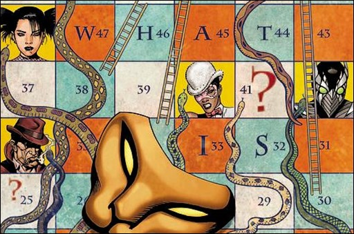 The Secret Six #1 Cover