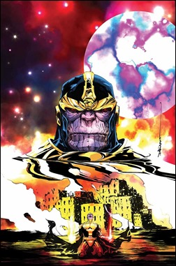 Thanos: A God Up There Is Listening #1 Cover