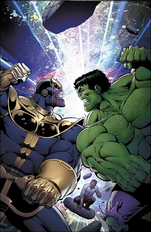 Thanos vs. Hulk #1 Cover