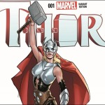 First Look at Thor #1 – The Female God of Thunder