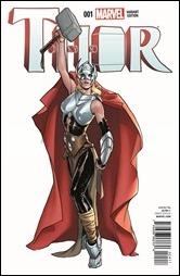 Thor #1 Cover - Pichelli Variant