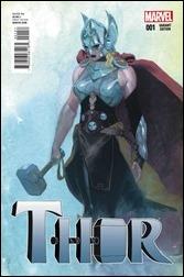Thor #1 Cover - Ribic Design Variant
