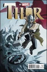 Thor #1 Cover - Staples Variant