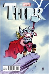 Thor #1 Cover - Young Variant