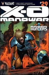 X-O Manowar #29 Cover