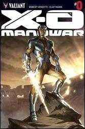 X-O Manowar #0 Cover