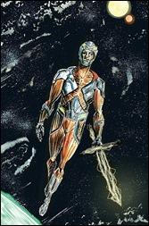 X-O Manowar #0 Cover - Lemire Variant