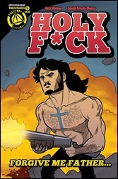 Holy F*ck #1 Cover - Jesus Variant