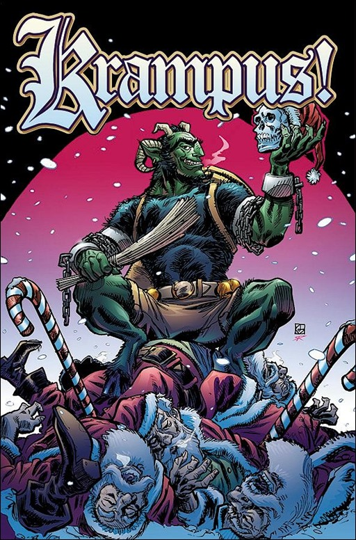 Krampus! Cover