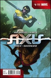 Avengers & X-Men: Axis #6 Cover - Ribic Inversion Variant