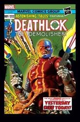 Deathlok #1 Cover - Hasbro Variant