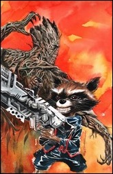 Guardians of the Galaxy #21 Cover - Nguyen Variant