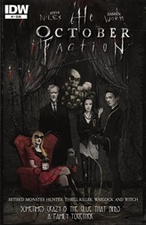 The October Faction #1 Cover