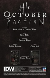 The October Faction #1 Preview 1