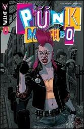 Punk Mambo #0 Cover - Andrasofsky Variant