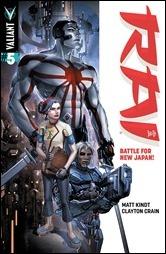 Rai #5 Cover A - Crain