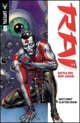 Rai #5 Cover - Fabry Variant