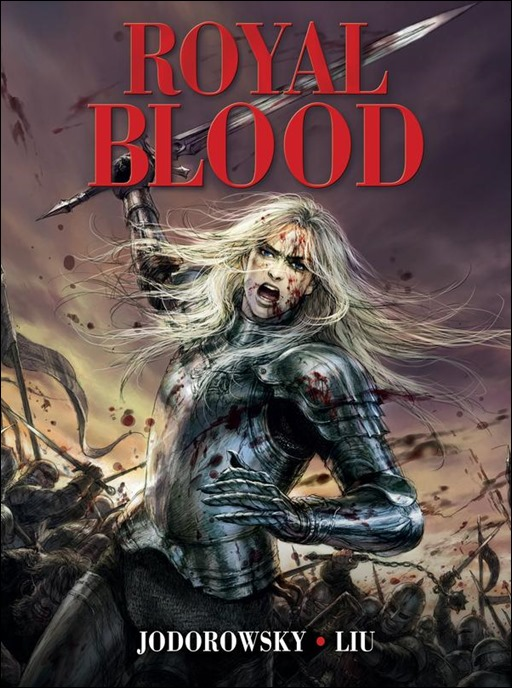 Royal Blood Graphic Novel Cover