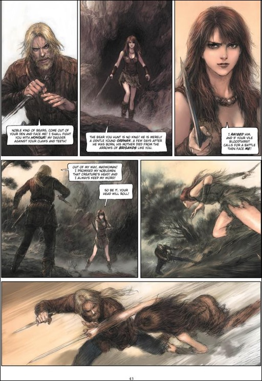 Royal Blood Graphic Novel Preview 1