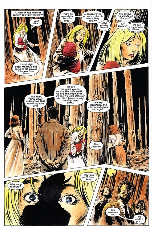 Preview Chilling Adventures Of Sabrina 1 Dark Circle