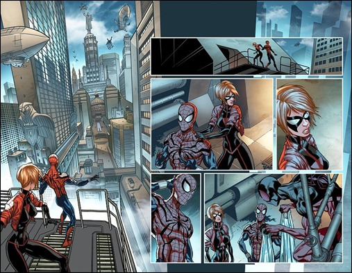 Scarlet Spiders #1 Preview 2